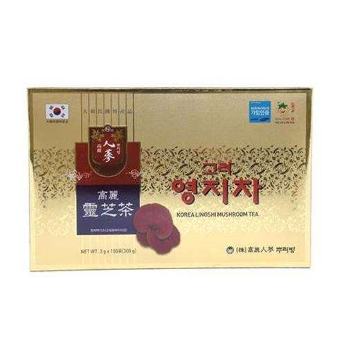 Trà linh chi hòa tan Hàn Quốc hộp vàng 100 gói x 3g - HDPShop